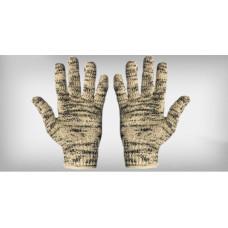 Luva tricotada 5 fios algodão mesclada