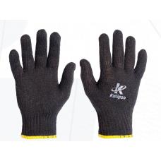 Luva tricotada preta